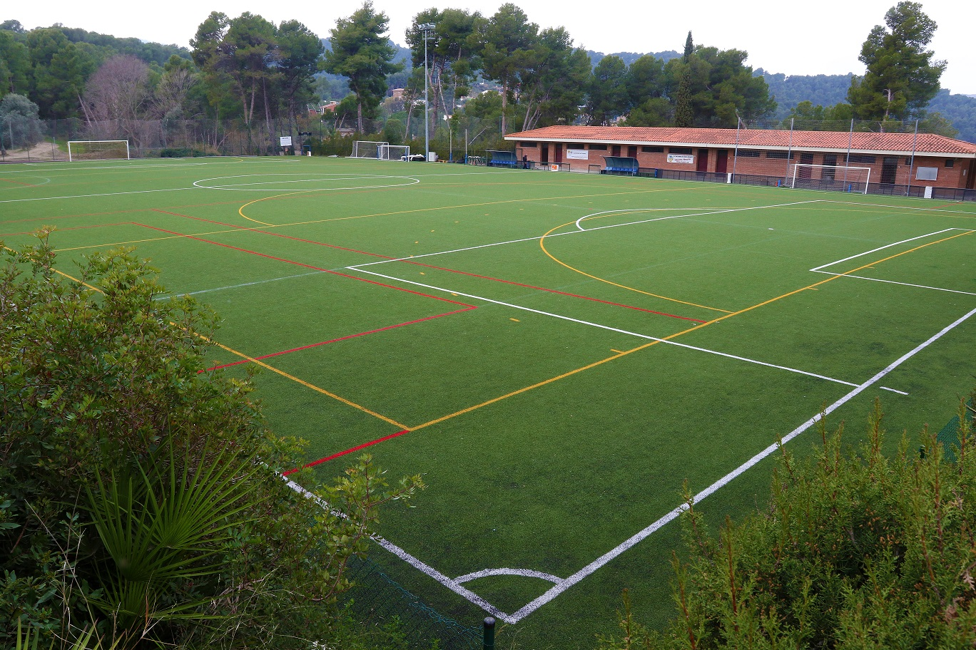 Foto edifici de l'equipament: Instal·lacions Esportives Municipals Can Salvi