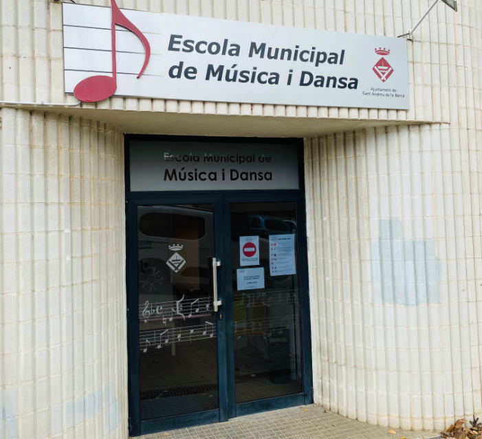 Foto edifici de l'equipament: Escola Municipal de Música i Dansa de Sant Andreu de la Barca