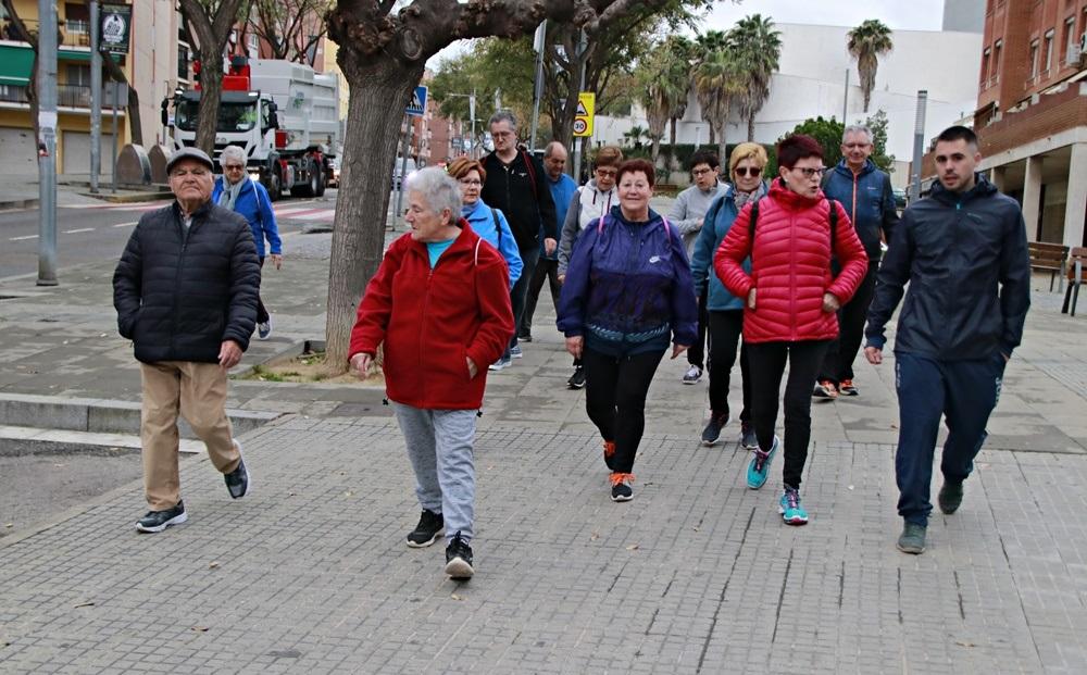 L'Ajuntament promou l'activitat física amb la Inici de l'activitat