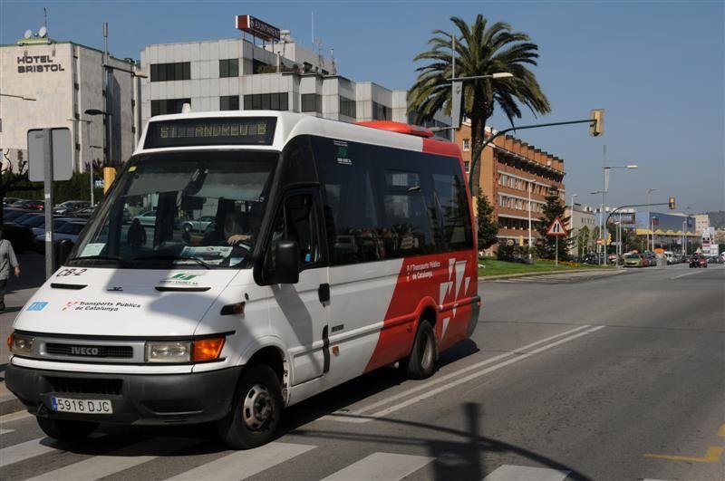 Reducció dels serveis d'autobús interurbà