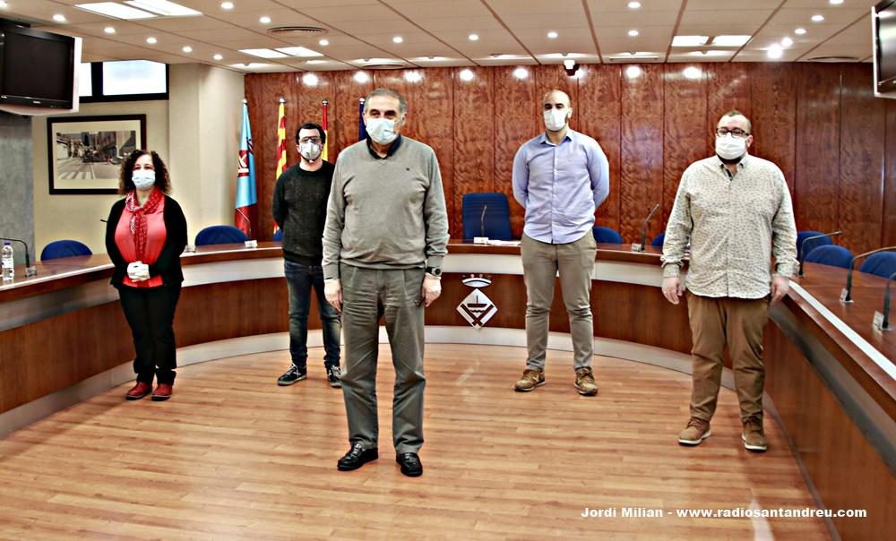 L'Ajuntament aprova una declaració institucional davant la situació d'emergència provocada per la pandèmia del coronaviurs