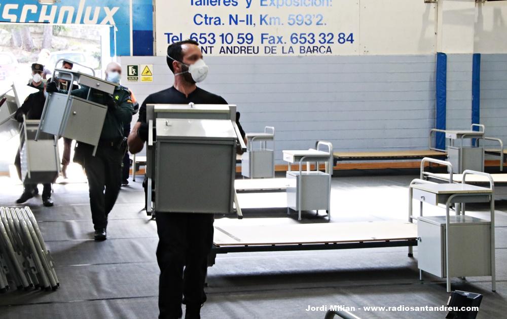 L'Ajuntament de Sant Andreu de la Barca reitera la disposició dels equipaments sanitaris habilitats per atendre als afectats de coronavirus