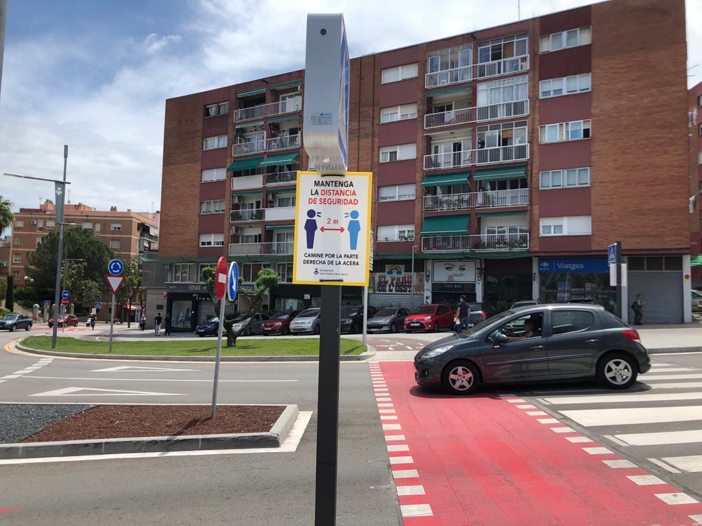 Senyalització específica als carrers