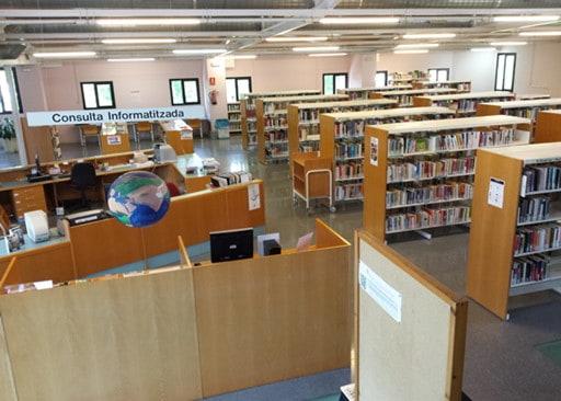 La biblioteca reobrirà les seves portes a partir del dilluns 1 de juny