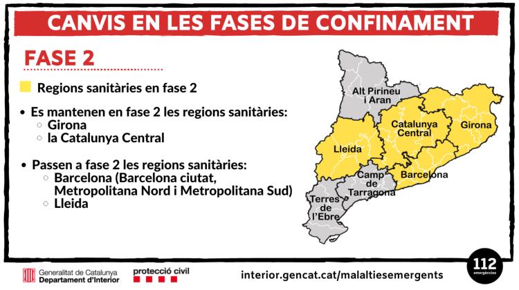 Sant Andreu de la Barca estrena la fase 2 de la desescalada