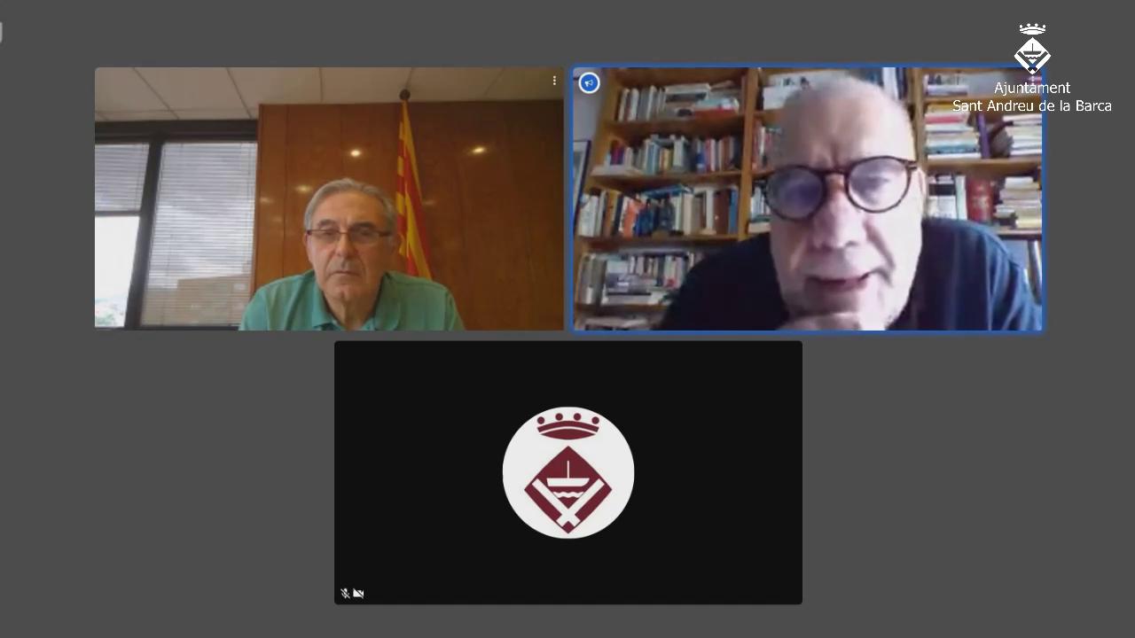 Ajuntament enceta un programa de xerrades sobre la Covid-19 amb experts de renom