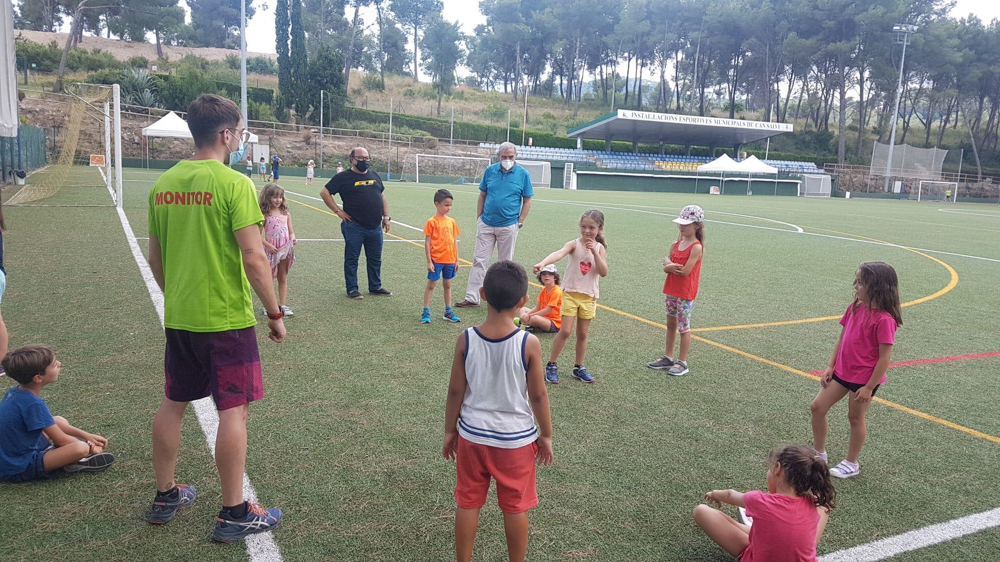 Gairebé 300 nens de la ciutat gaudeixen de les activitats de lleure d'estiu