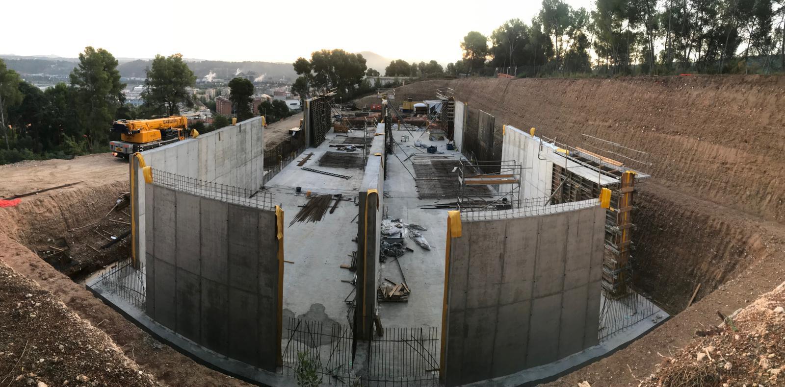 Les obres del nou dipòsit d'aigua estaran enllestides el pròxim estiu
