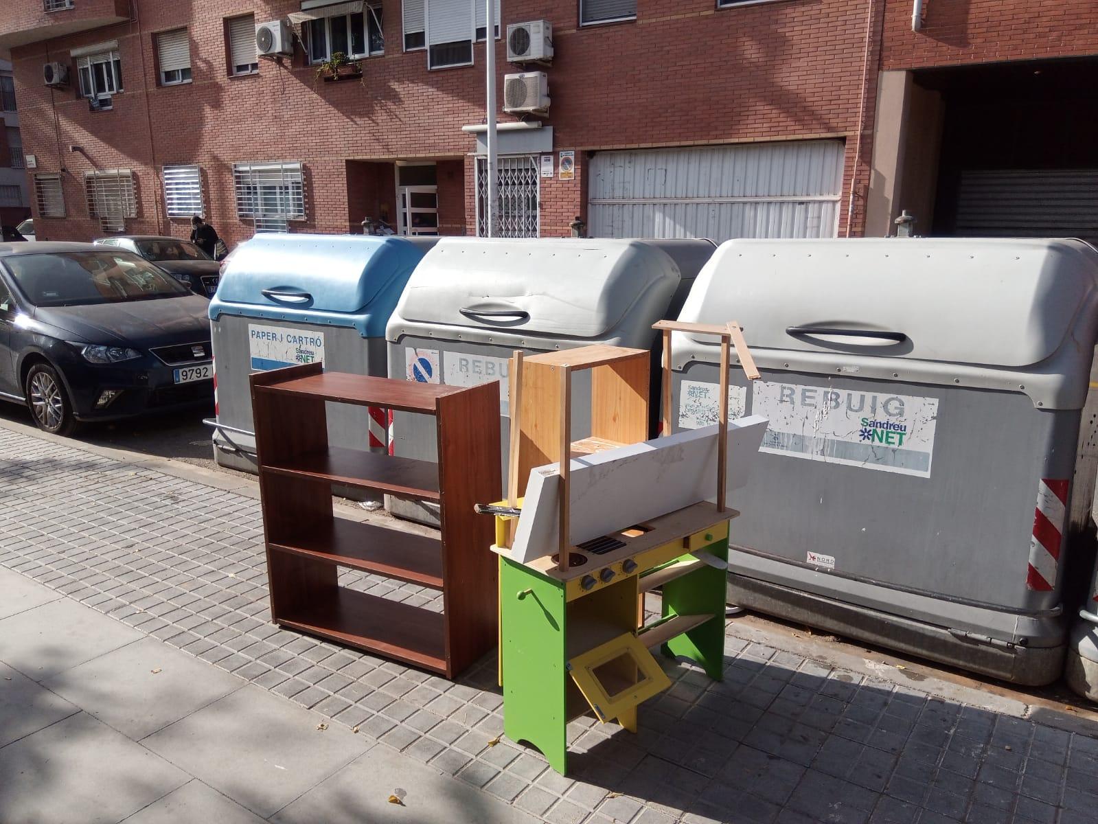 L'Ajuntament reforça el servei de recollida de mobles vells i andròmines