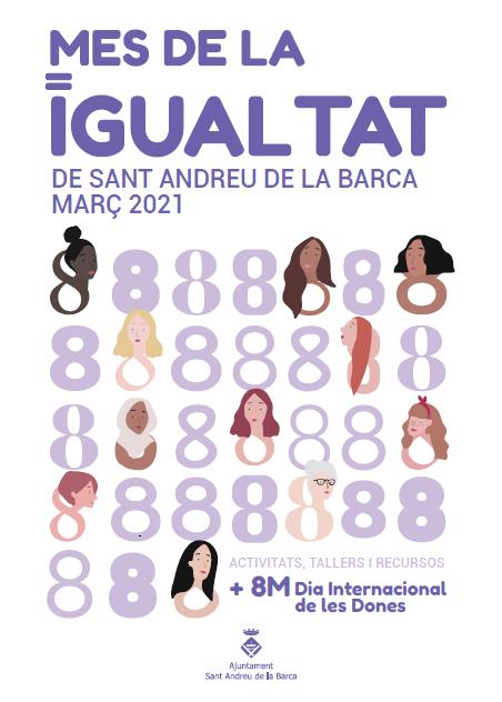 L'Ajuntament dedica el mes de març a la igualtat de les persones