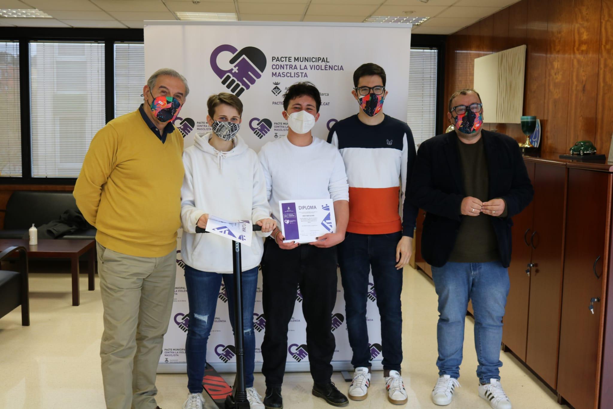 Els joves de Sant Andreu contribueixen a acabar amb la violència masclista