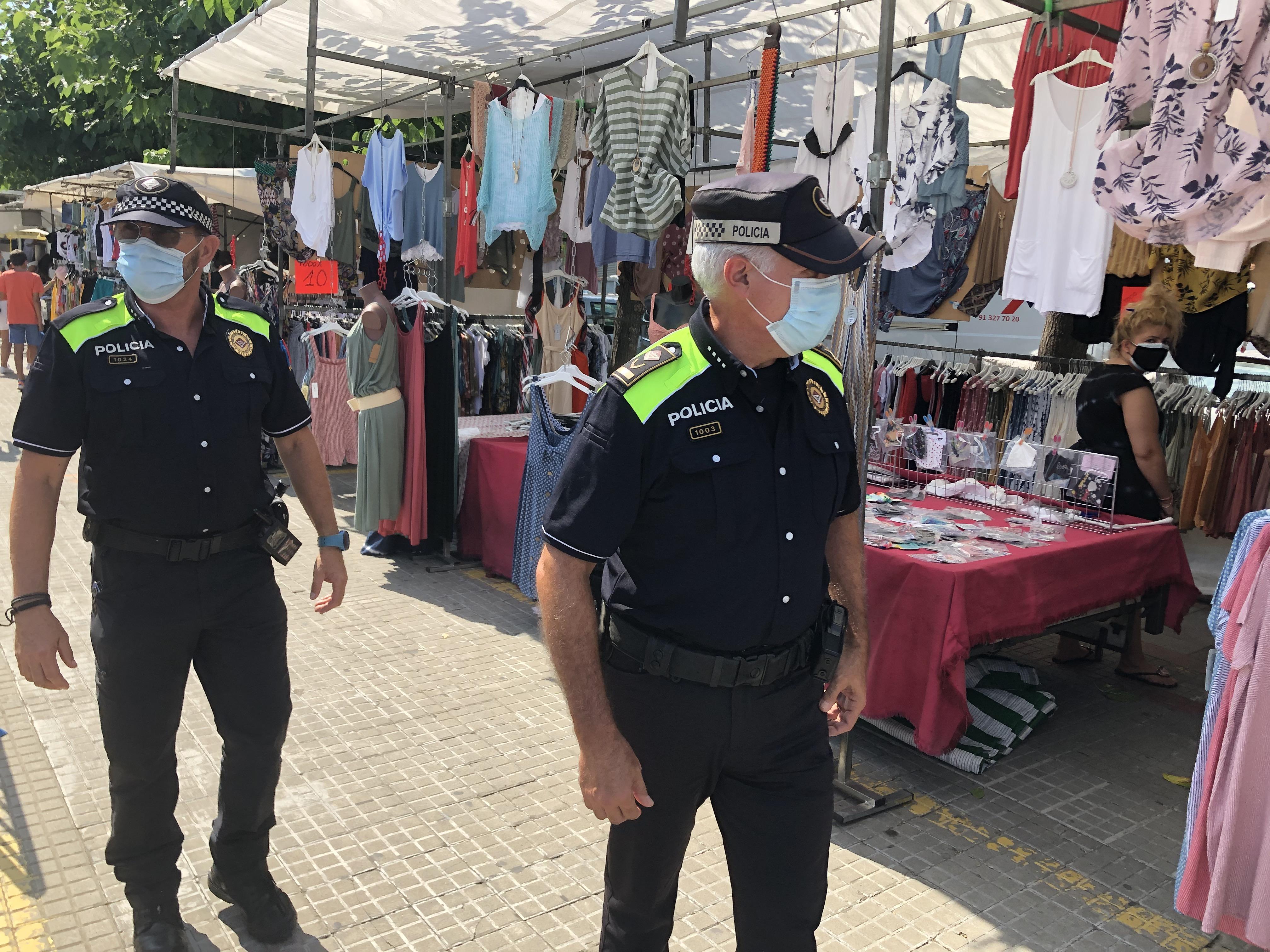 La Policia Local aixeca 79 actes de sanció per incompliments anti-covid-19