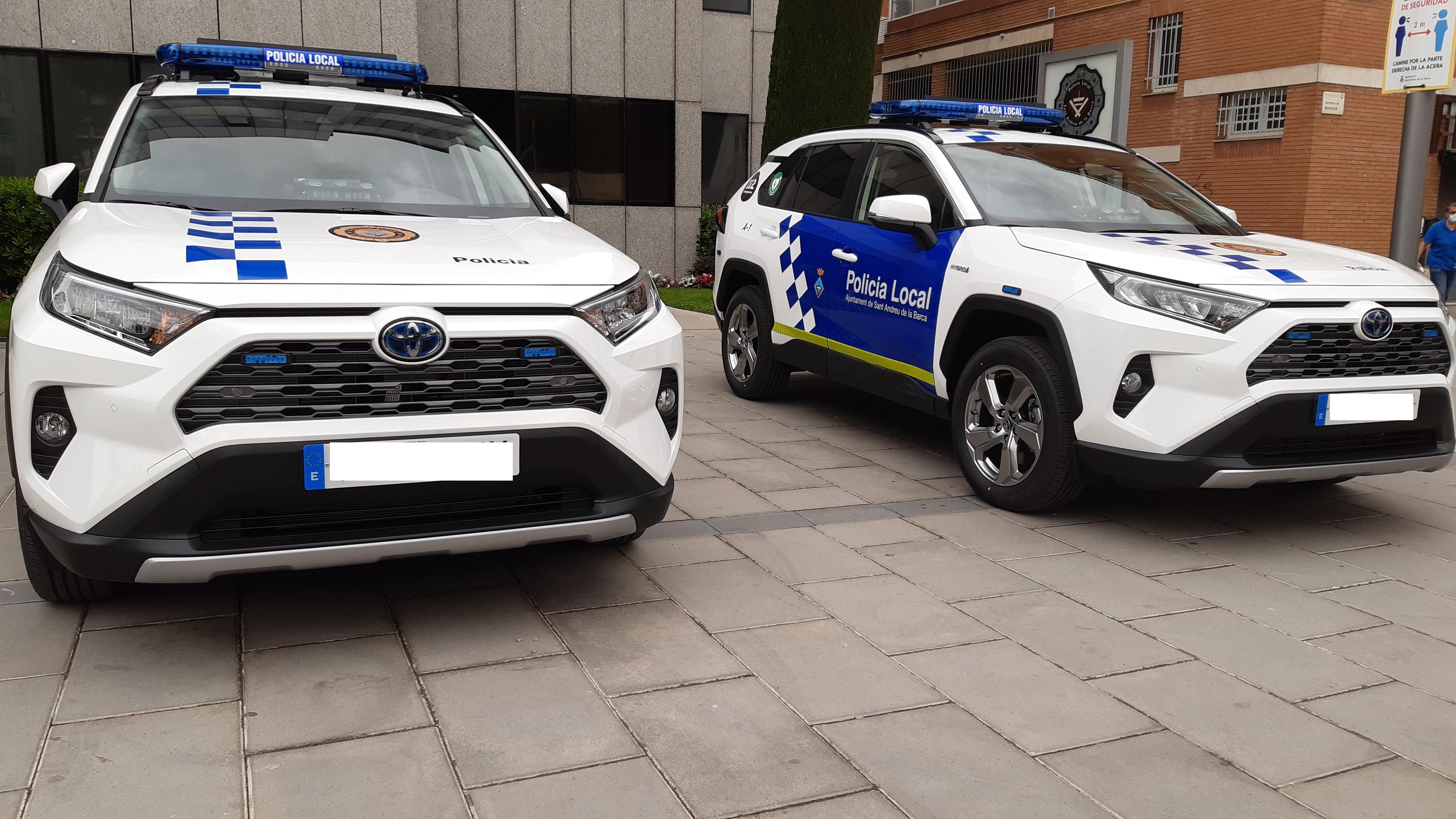 La Policia Local incorpora dos vehicles híbrids