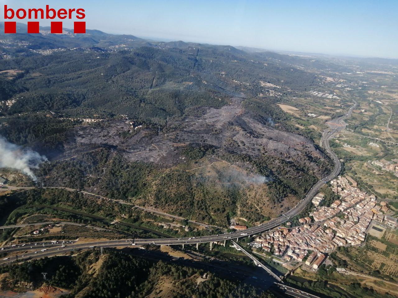 L'Ajuntament de Sant Andreu de la Barca presta suport als afectats per l'incendi de Castellví de Rosanes